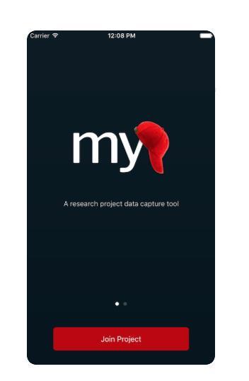 MyCap interface